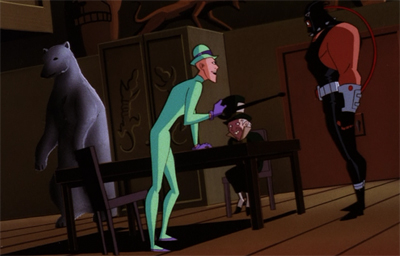 Apropos of nothing, man do I hate the Riddler's body stocking...
