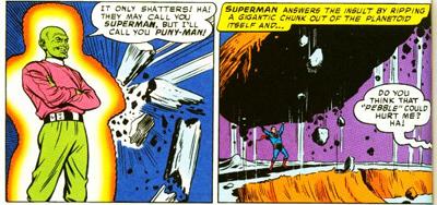 Superman smash!