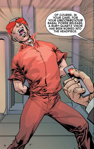 Cyke goes psycho!