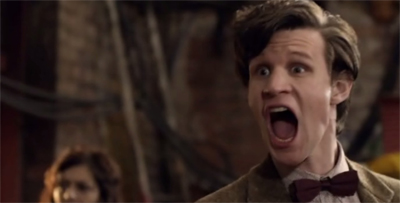 "Matt Smith is still getting to grips with ""shouty Doctor!"""