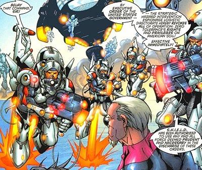 Strategic (H.I.E.L.D.) Intervention...
