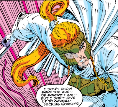 Fun fact: I owned a toy of Shatterstar when I was younger, but I never read about him until I picked up this comic.