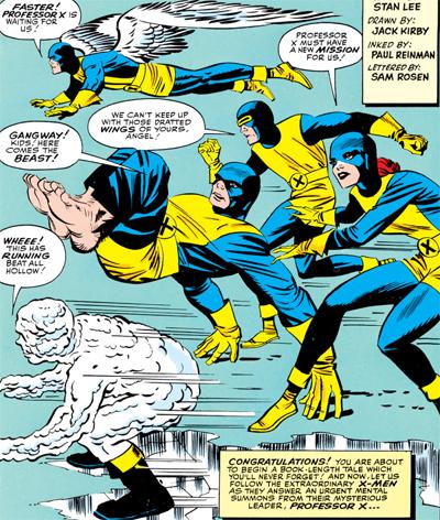 X-Men of action...