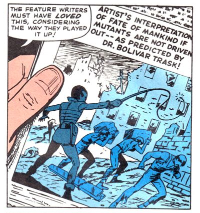 In the future, mutants oppress you!