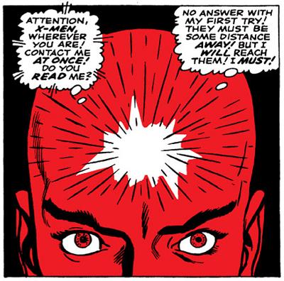Xavier's Red Skull...