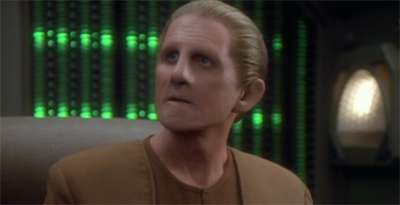 For a Changeling, Odo has surprisingly poor composure...