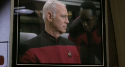 """Yes, I'm aware Picard's seat is much more comfortable..."""