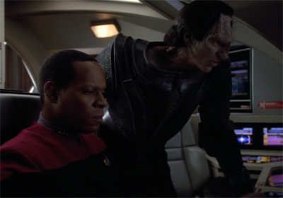 At least Dukat and Sisko didn't spend all their time arguing over the radio station...
