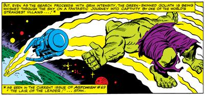 Prelude to Planet Hulk...
