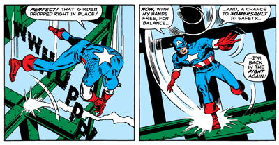 Cap always lands on his feet...