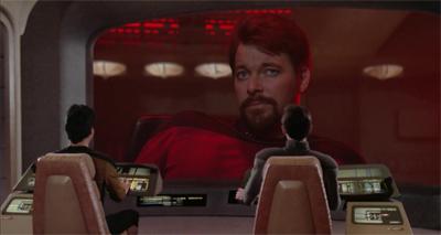 Hijacking a Klingon ship. Like a boss.