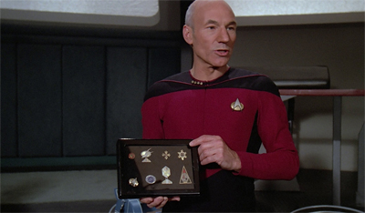 Maddox would have had him if it wasn't for Picard's medalling...
