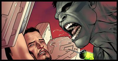 Hulk expectorate!