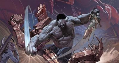 ... but Hulk also smash...