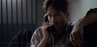 Let's face it, Scully was going to get a call like this sooner or later...