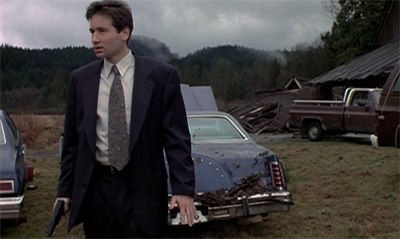 Mulder goes on the reservation...