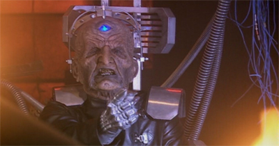 It's not at all like Davros to overreact...