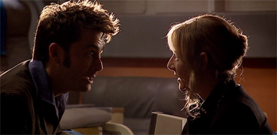 Let's be honest, if you want to defeat the Tenth Doctor, letting him talk himself into trouble isn't a bad plan...
