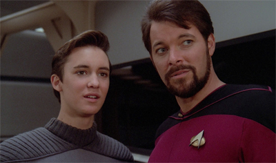 The best romantic advice I can offer is to never, ever listen to anything Riker tells you.