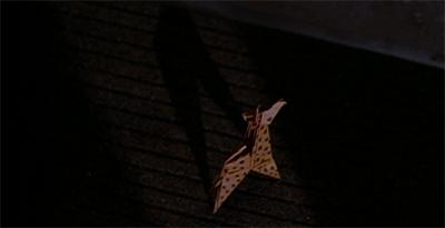 It's only a paper giraffe...