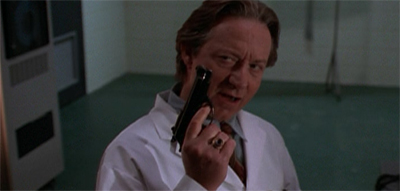 """""""I keep a holster in my lab coat, why do you ask?"""""""