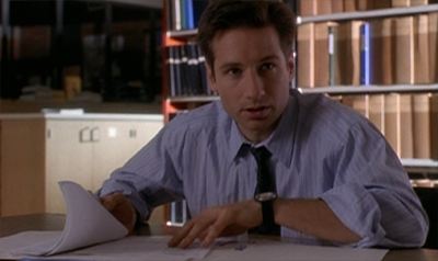 Mulder works by the book here...