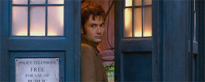 A doorway to Doctor Who...