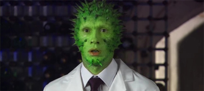 It's not easy being green...