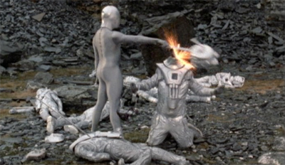 Terrance Dicks does not care for the Cybermen...