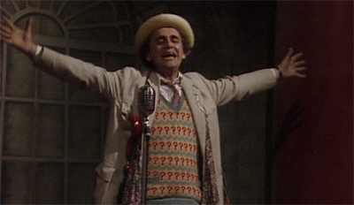 The Doctor was never one for showboating, was he?