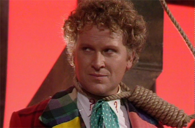 This might just be the best illustration of how the show felt in the Colin Baker years...