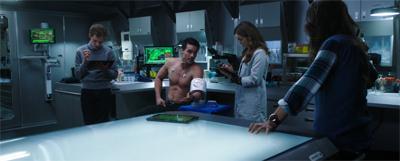 Obligatory shirtless scene!