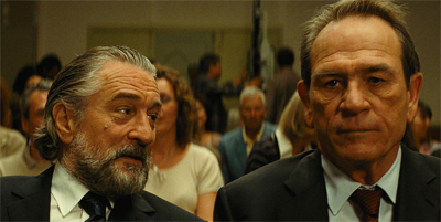 Tommy Lee Jones gives the move two thumbs up...