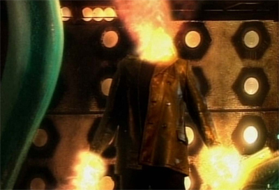 David Tennant explodes on tot he scene...