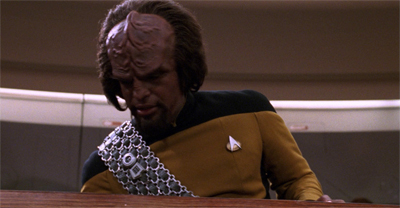 Worf speed...