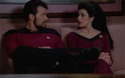 Giving their relationship another Troi?
