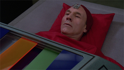 Picard's technicolour nightmare...