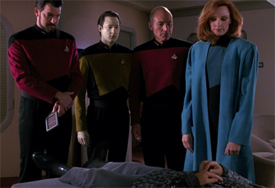 He is dead to the Romulan Star Empire...