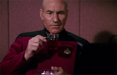 This sort of Cold War melodrama is hardly Picard's cup of tea...