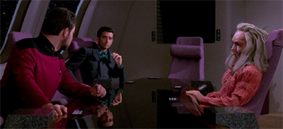 What does Riker bring to the table?