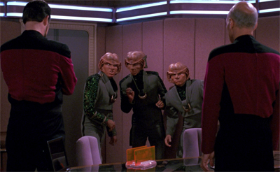 Surprisingly, the Ferengi are the least of the episode's problems...