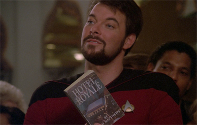 Riker always goes by the book...