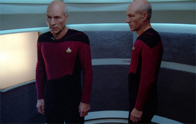 Should the crew worry that Picard spends most of the episode talking to himself?