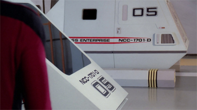 """One of our shuttlecraft is... like, what's the reverse of missing?"""
