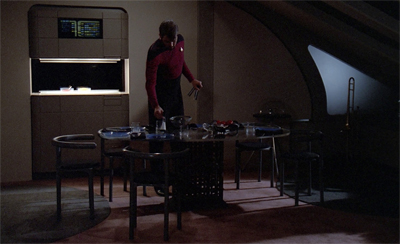 Can you smell what Riker is cooking?
