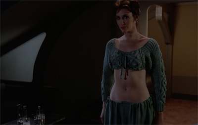 I call the Aran midriff...