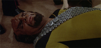 Worf's feeling faint...