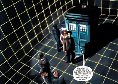 The Doctor is on the grid...