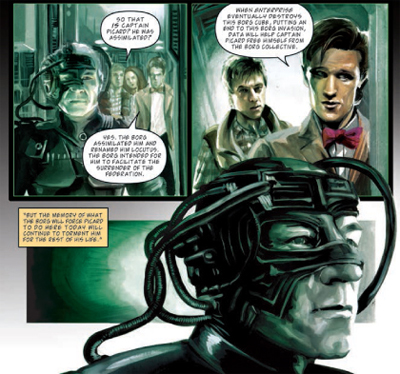 The man who would be Borg...