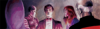 The Doctor and his crew...